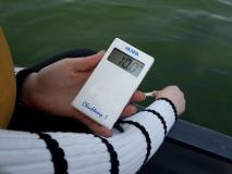 misurare temperatura dell'axqua